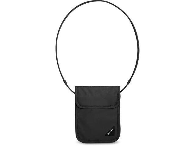 Pacsafe Coversafe X75 Bolsa para el cuello, negro
